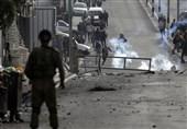 زخمی شدن 38 فلسطینی در درگیری با نظامیان صهیونیست در شرق قدس
