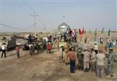 راهیان نور|حضور فرمانده قرارگاه راهیان نور ارتش در یادمان شهدای عملیات رمضان+عکس