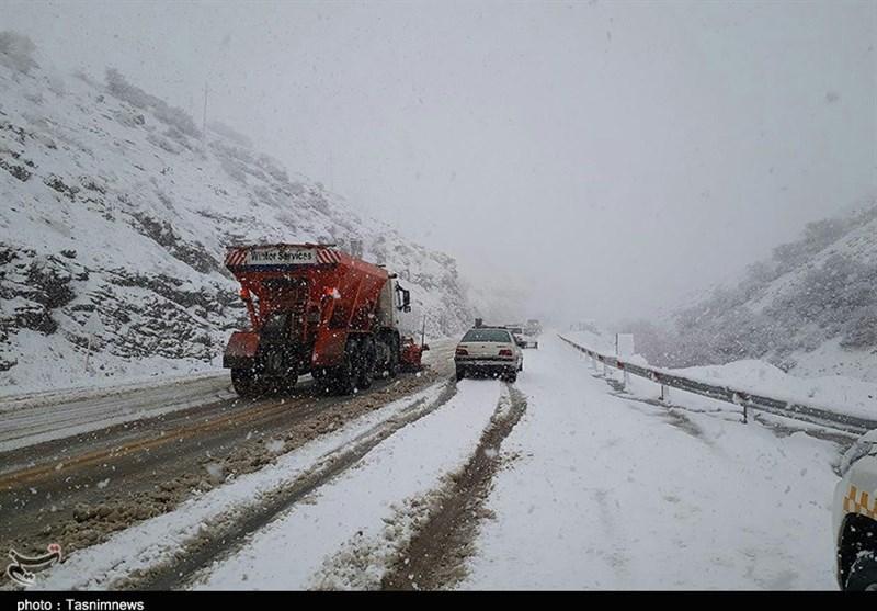 برف و باران در 19 استان کشور