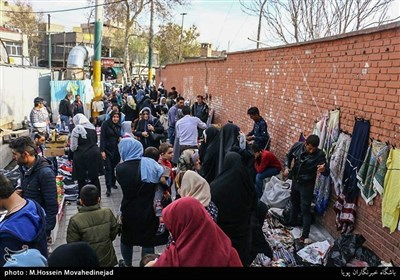 نوروز کی آمد پر ایران کے بازاروں میں گہما گہمی