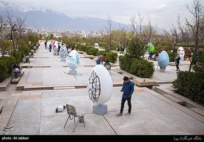 کارگاه نقاشی تخم مرغ های نوروزی