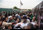 ساری| اردوگاه شهدای مازندران در خرمشهر میزبان شهید گمنام است