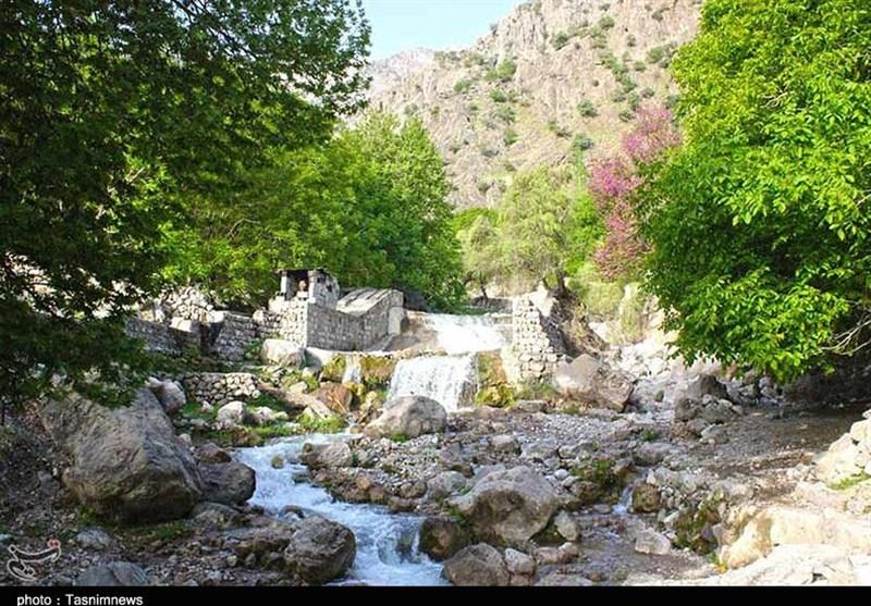 خوزستان| نقاشی زیبای طبیعت در شیوند؛ بهشتی مغفول مانده از چشم گردشگران + تصویر