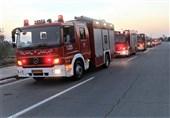 استقرار 154 آتشنشان تهرانی در 35 نقطه از مسیرهای راهپیمایی جاماندگان اربعین