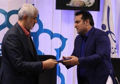 مراسم تکریم و معارفه رئیس سازمان ورزش شهرداری برگزار شد