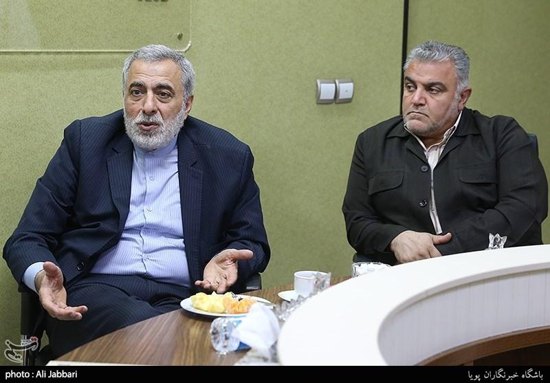 حسین شیخ الاسلام مشاور سابق وزیر امور خارجه در میزگرد بررسی تحولات فلسطین سال96