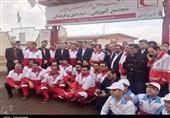 مرکزی| حضور رئیس جمعیت هلال احمر در دلیجان به روایت تصویر