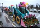 خراسان شمالی| کاروانی از گلهای رنگارنگ بهاری در بجنورد به روایت تصویر