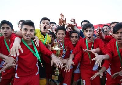 پایان لیگ برتر فوتبال نونهالان با قهرمانی ایران  مهر