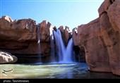 لرستان  آبشار افرینه پلدختر؛ تماشای تلاقی آب در دل سنگ و صخره + تصاویر
