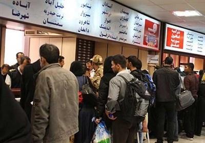 افزایش سرسام آور قیمت بلیت اتوبوس در آستانه نوروز/ جولان دلالان در پایانه های استان تهران