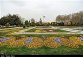 """""""حدیقة الزهور"""" فی أصفهان.. مزیج جمیل من الفن والطبیعة+صور"""
