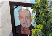 خاکسپاری شهید حمزه عامری در گلزار شهدای تهران