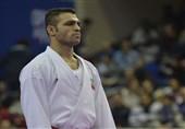 کاراته وان چین| درخشش مدال طلا بر سینه ذبیحالله پورشیب