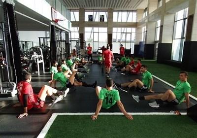 برگزاری آخرین تمرین تیم ملی فوتبال پیش از سفر به تونس + عکس