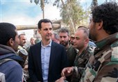 President Assad Visits Eastern Ghouta amid Syrian Army Advances