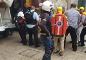 مجروح شدن دو پلیس اسرائیلی توسط جوان فلسطینی در قدس اشغالی