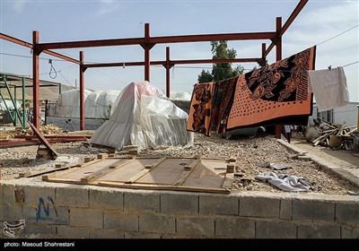 وضعیت روستاهای زلزله زده در سرپل ذهاب