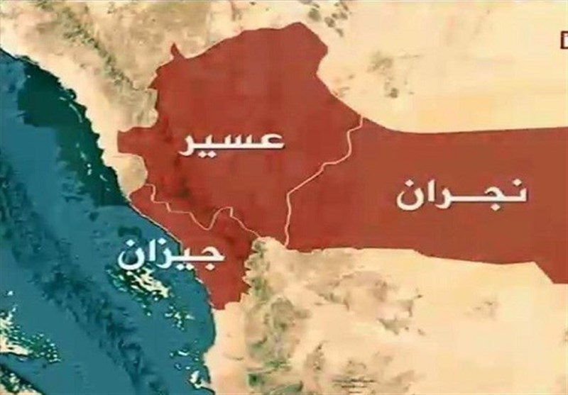 استهداف تجمعات للجنود السعودیین ومرتزقتهم فی جیزان ونجران