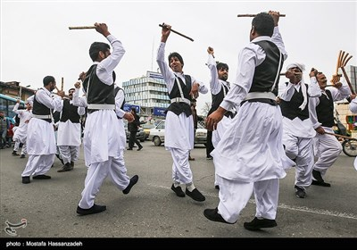 Iranian People Welcome Nowruz with Street Festivals