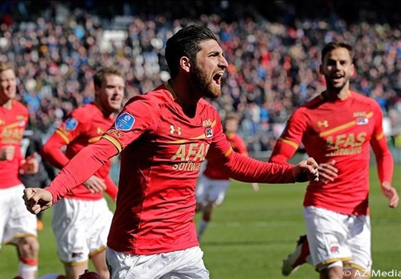 Alireza Jahanbakhsh Hits Hat-Trick against Vitesse Arnhem