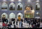مشهد|زیارت امینالله در بارگاه منور امام رضا(ع) طنینانداز شد