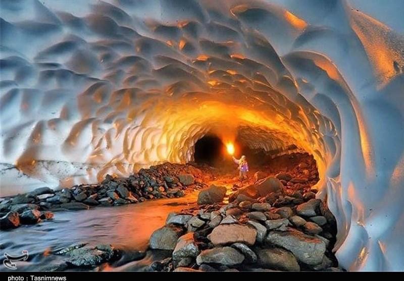 ریزش تونل برفی شهرستان ازنا؛ 3 گردشگر نجات یافتند