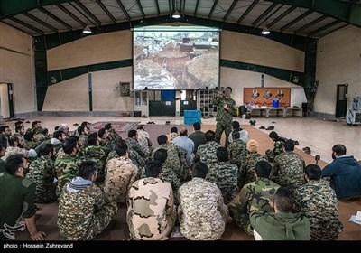 آموزش مقابله با تلههای انفجار به نیروهای یگان ویژه فاتحین