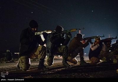 تمرین رزم شبانه نیروهای یگان ویژه فاتحین