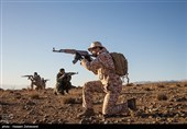 انهدام یک تیم تروریستی در جنوبشرق کشور توسط نیروی زمینی سپاه