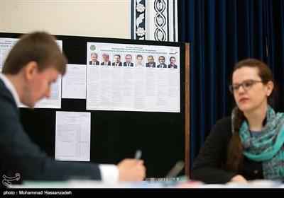 روس؛ صدارتی انتخابات کی تصویری جھلکیاں