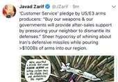 ظریف: الاحتجاج على برنامج ایران الصاروخی هو خداع مطلق من قبل الغرب