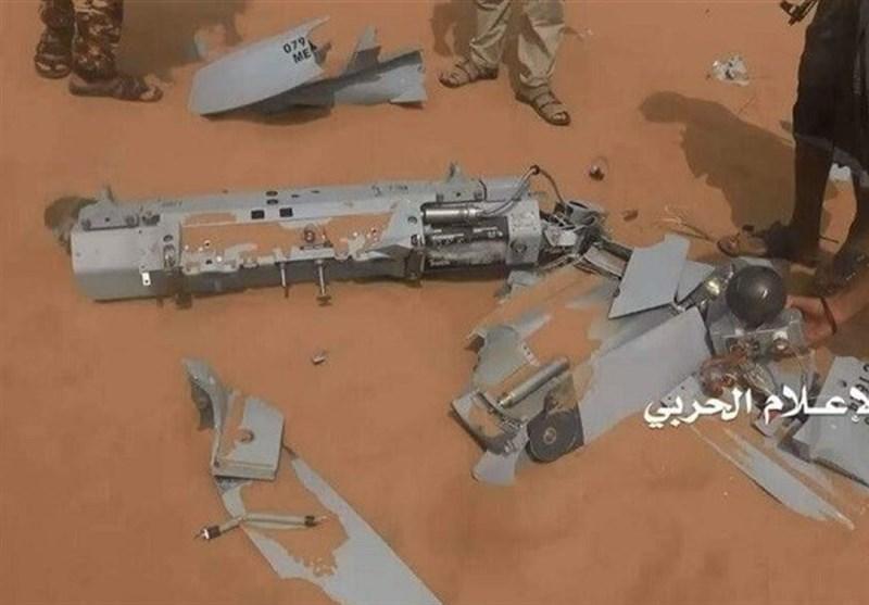 یمن میں ایک اور سعودی جاسوس طیارہ گر کر تباہ