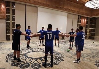 نخستین تمرین تیم ملی فوتبال در تونس + تصاویر