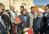 کرمانشاه| رئیس جمهور از مناطق زلزلهزده بازدید کرد