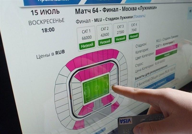 رضایت فیفا از میزان فروش بلیتهای جام جهانی 2018 فوتبال
