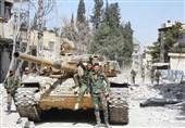 """الجیش السوری یحبط محاولات خرق أخیرة لإرهابیی الغوطة ویتابع عملیاته باتجاه بلدة """"حزة"""""""