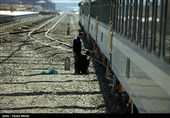 زنجان| سفره خالی کارکنان شرکت تراورس راهآهن در ماه رمضان