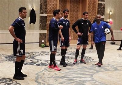 برگزاری آخرین تمرین تیم ملی فوتبال در سال 96+ عکس