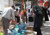 زنجان| چشمنوازی زیبای بازار زنجان +فیلم