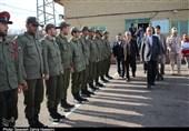 تبریز|بازدید نوروزی استاندار آذربایجان شرقی از پاسگاههای مرزی ایران و مراکز خدمات نوروزی