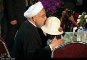 تحویل سال نو در کنار مردم زلزله زده کرمانشاه