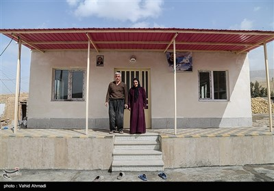 فعالیت عمرانی گروه های جهادی در روستاهای سرپل ذهاب