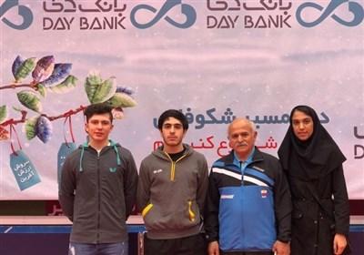 ایران تتوج بذهبیة منافسات الفرق فی بطولة تونس لتنس الطاولة