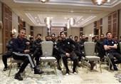 جلسه فنی کیروش با ملیپوشان در تونس