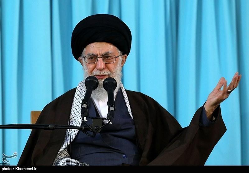 امریکا سمیت دشمن طاقتیں ایران میں اسلامی نظام کا خاتمہ چاہتی ہیں، امام خامنہ ای