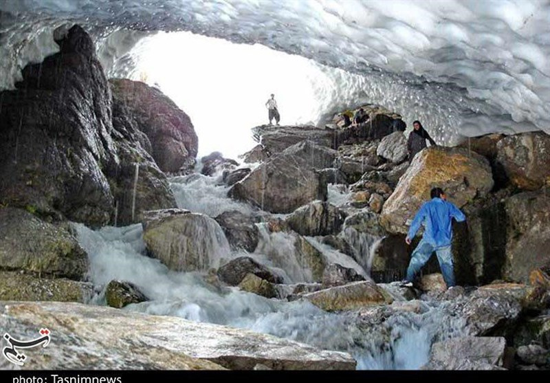 Snowy Azna: A Tunnel in The Mountain Wilderness
