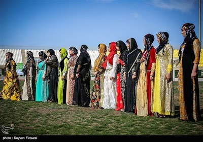 ایران؛ صوبہ کردستان کے مرکزی شہر سنندج میں جشن عید نوروز
