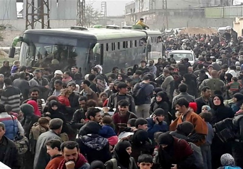 Over 128,000 Civilians Have So Far Left Ghouta: Syrian Source