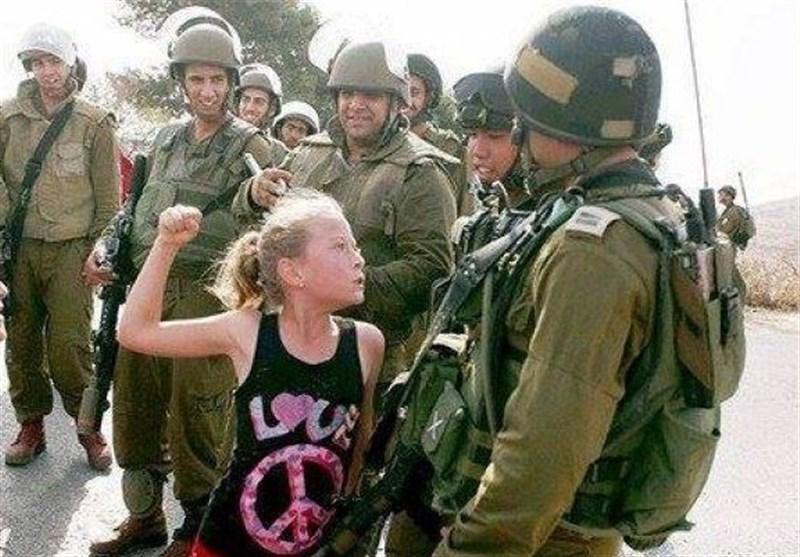صہیونی فوجی کو تھپڑ رسید کرنے والی فلسطینی لڑکی کو 8 ماہ قید کی سزا